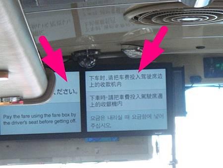 0714022-百元循環公車內的說明.JPG
