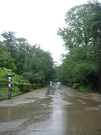 0714038-下大雨的弘前公園.JPG