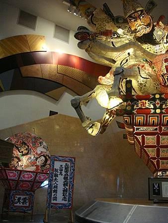 0714229-弘前睡魔跟五所川原睡魔模型.JPG