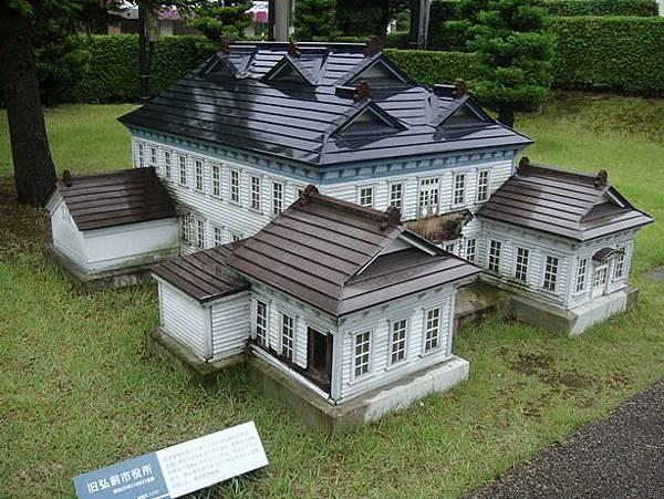 0714286-弘前西洋建築的縮小模型.JPG