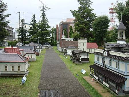 0714307-弘前西洋建築的縮小模型.JPG