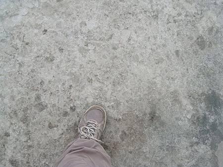 0711200-踩上Columbia Icefield哥倫比亞冰原.JPG