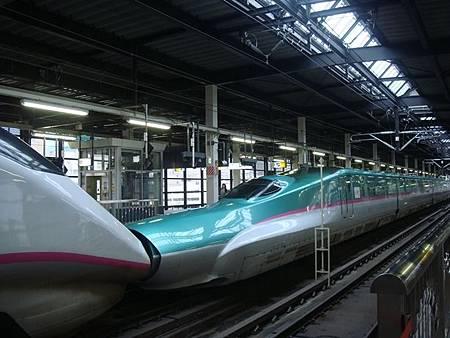 1023018-連結的東北新幹線和秋田新幹線列車.JPG