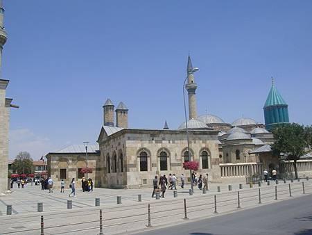 0708157-Mevlâna Museum梅夫拉那清真寺.JPG