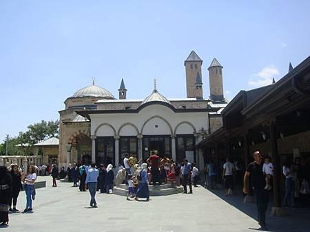 0708173-Mevlâna Museum梅夫拉那清真寺.JPG