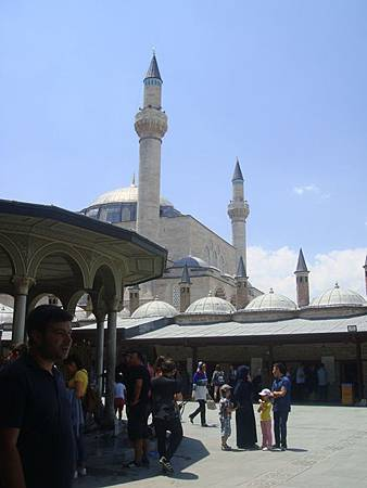 0708198-Mevlâna Museum梅夫拉那清真寺.JPG