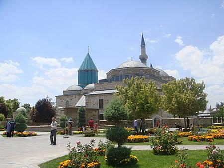 0708207-Mevlâna Museum梅夫拉那清真寺.JPG