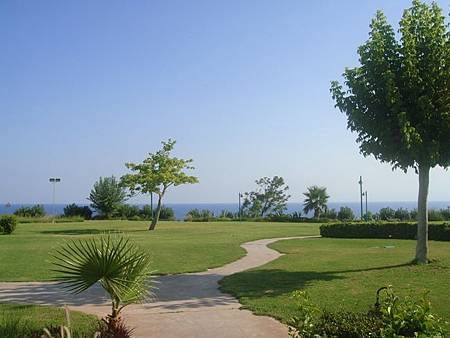 0709446-The Marmara Antalya庭園.JPG