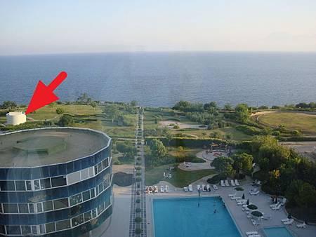 0708275-The Marmara Antalya 1405房窗景.JPG