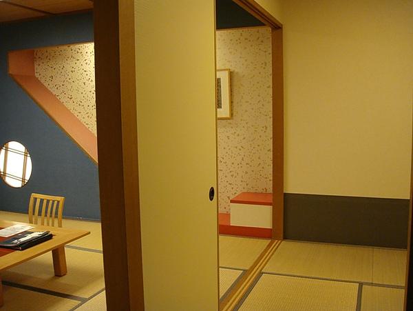 0806115-高山PLAZA飯店的房間.JPG