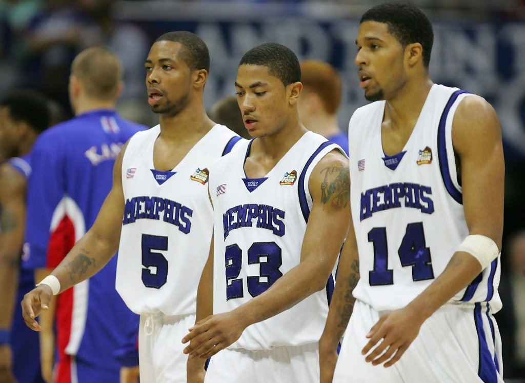Chris+Douglas+Roberts+Derrick+Rose+NCAA+Basketball+7gyfbf2sBP4x