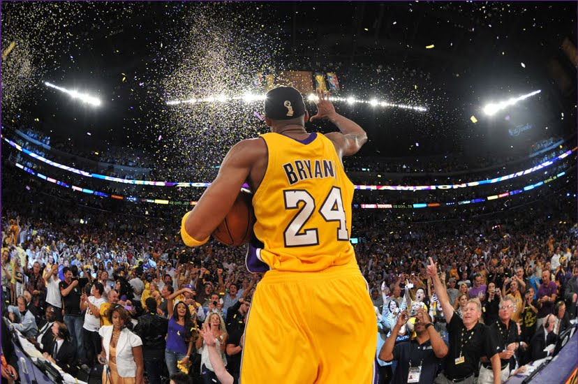 2010-NBA-Champion-LA-Lakers-Kobe-Bryant-Celebrating-His-Fifth-NBA-Championship