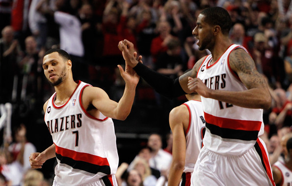 Brandon+Roy+Dallas+Mavericks+v+Portland+Trail+wkkv7Ex1YLtl