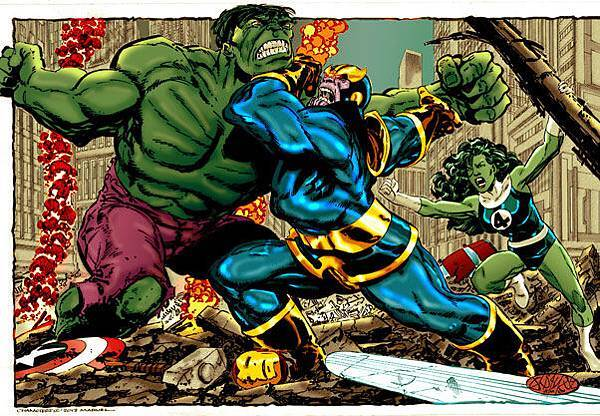 thanos_vs_hulk_byrne_by_namorsubmariner-d66htmm