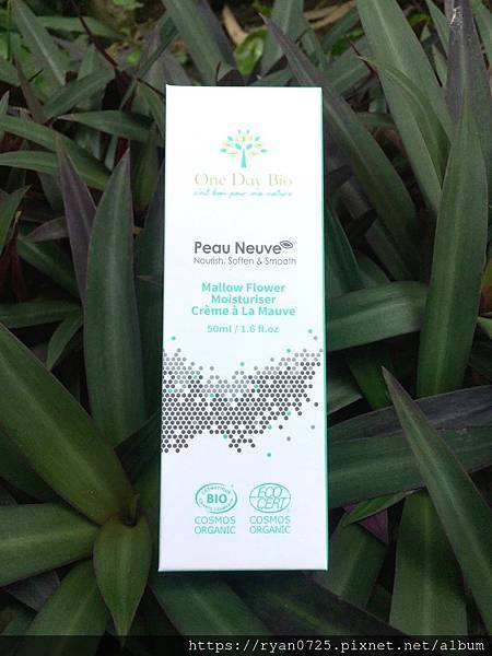 (體驗)有機保養品推薦【錦葵平衡柔膚霜】淨白保濕細緻肌膚,來自法國One Day Bio每日有機