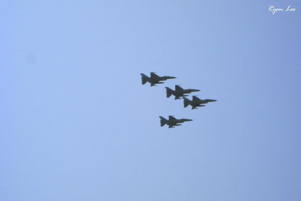 F-16編隊飛行