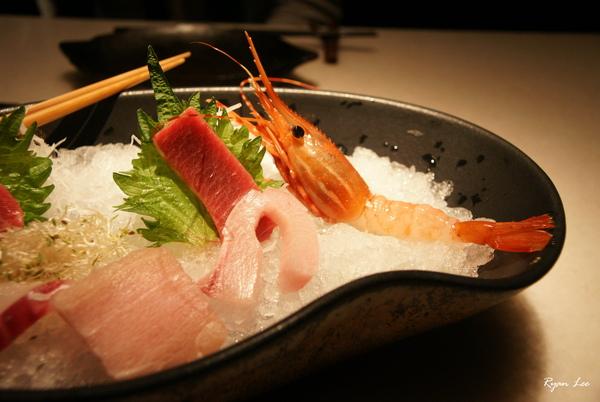 明水三井-生魚片