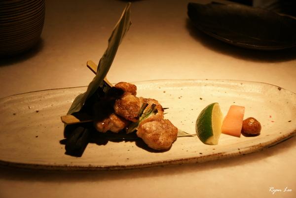 明水三井-烤魚串
