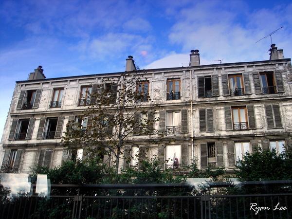 巴黎的房舍