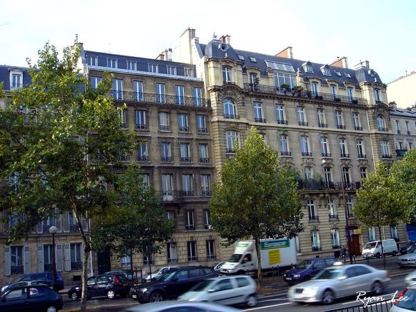 巴黎的街頭