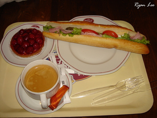 在法國的第一餐