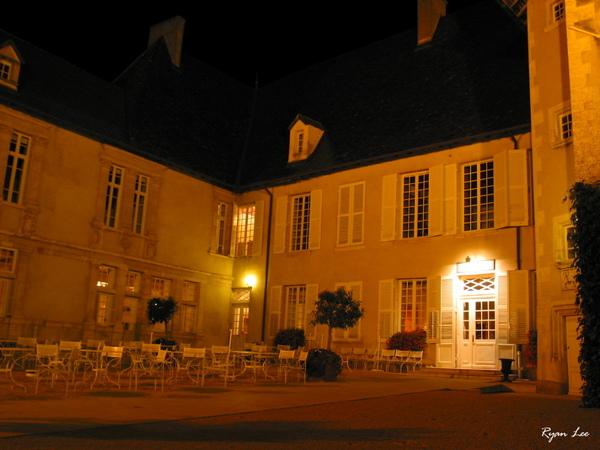 酒莊飯店的夜景
