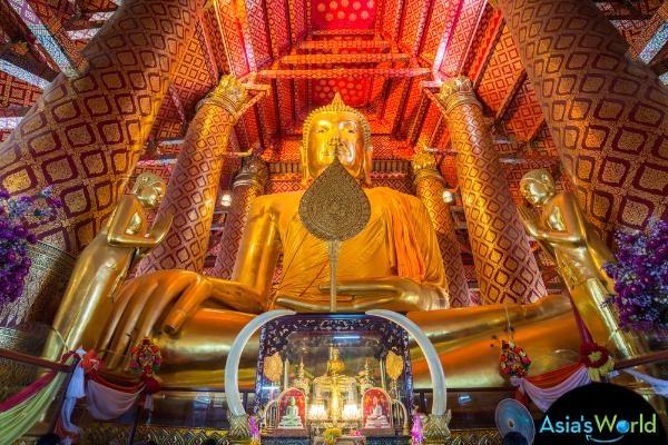 Wat Phanan Choeng 帕楠晨寺(圖片取自http:%2F%2Fwww.thailandsworld.com)