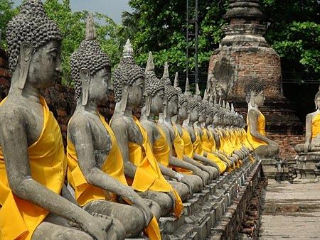Wat Yai Chai Mongkhon 涯差蒙空寺(圖片取自http:%2F%2Fwww.ayutthaya2020.com)