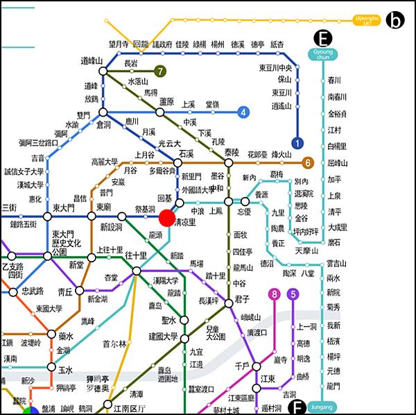 【韩国|首尔】2017最实用韩国首尔中文地铁图!清楚标示支线、五大地下街、KTX、高速巴士站以及机场!再也不会找不到了