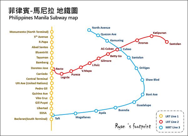 菲律賓 馬尼拉地鐵圖.png
