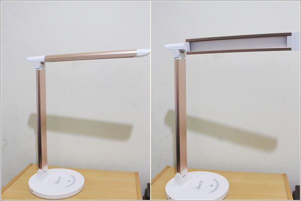 鋁合金USB充電LED護眼檯燈 (5)
