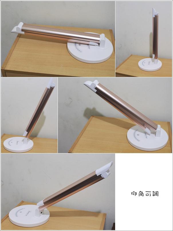 鋁合金USB充電LED護眼檯燈 (6)