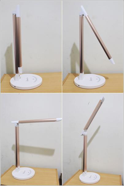 鋁合金USB充電LED護眼檯燈 (3)