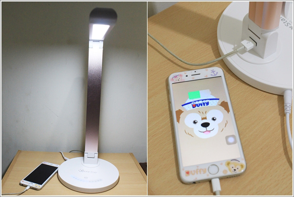 鋁合金USB充電LED護眼檯燈 (16)