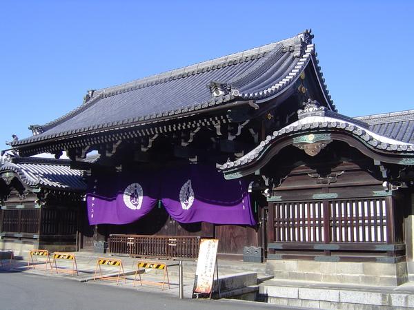 西本願寺的唐門