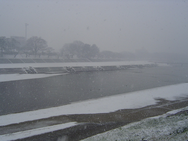 光看到河就打冷顫