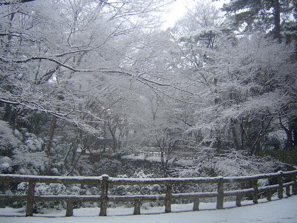 岡崎公園內