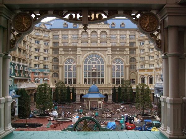 好美的飯店喔