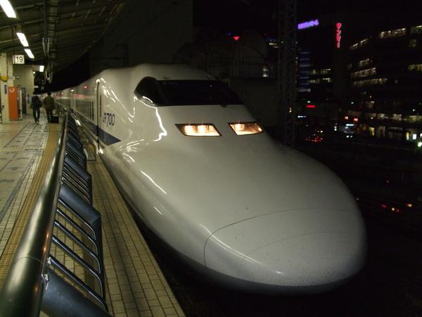 鄉下人第一次做新幹線