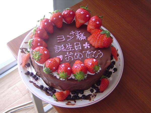 完成!黑森林巧克力草莓蛋糕!!!