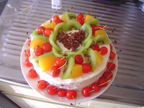 今年自製生日蛋糕第三彈