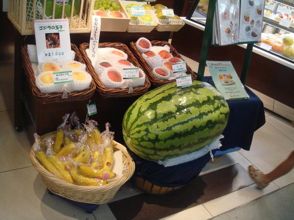 你看看麥~有看過麼大的西瓜嗎