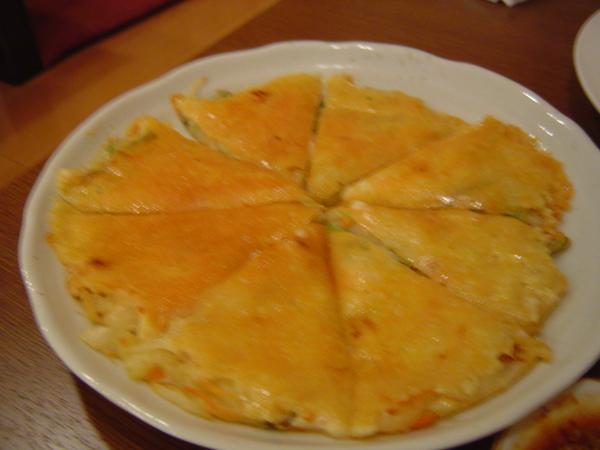 依日本人而改良過的起司煎餅,超好吃~
