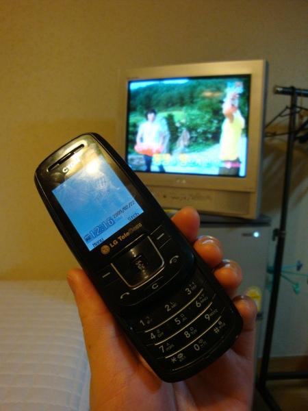 此次旅程租的手機