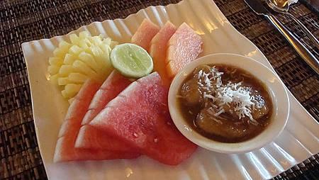 很奇怪~在巴厘島吃的水果都不甜