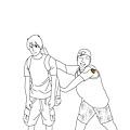 《田僑仔室友》第一代草圖