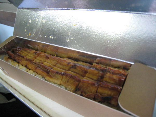 忘記店名的美味烤鰻魚壽司