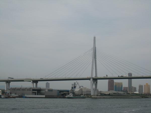 聖瑪利亞號看出去的大阪港海景