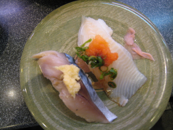 鯖魚和比目魚