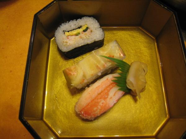 螃蟹壽司們